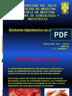 Sindrome Hipertensivo en El Embarazo