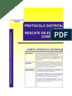 Protocolo Rescate Espacios Confinados