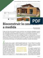 Bioconstruir Una Casa Ideal a Medida