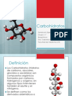 Carbohidratos (1)