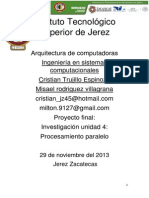 Proyecto Arquitectura de Computadoras Cristian y Misael