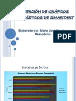 Inserción de gráficos estadísticos de Smartart