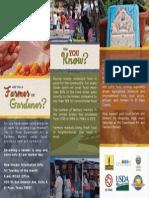ENGLISH Recruitment Brochure - Inside Trifold