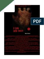 """AGGIORNAMENTO NUMERO 29- RECENSIONE PER IL LIBRO """" IL BUIO NELLA BOCCA"""""""
