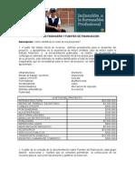 Estudio Financiero y Fuentes de Financiacion