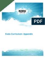 7. Kodu Curriculum_Appendix