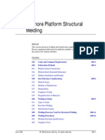 WEM 600 - Offshore Platform Welding
