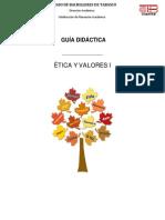 ETICA Y VALORES 1 S.D