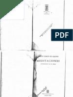 Meditaciones de Santo Tomas de Aquino Primeira Parte