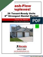 Cash Flow Duplexes - Real Estate Investment - Kansas City