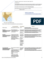 Health Information for Travelers to India - Clinician View _ Travelers' Health _ CDC