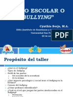 Acoso Escolar o Bullying(Cynthia Borja)