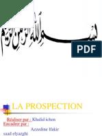 La Prospection