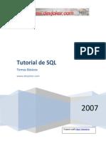 SQL - Tutorial Basico