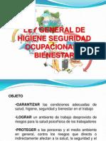 Trabajo de Laboral Ley General de Higiene