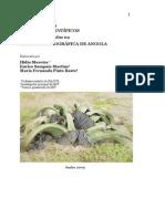 Actualização dos nomes científicos - Carta Fitogeográfica de Angola