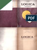 Manual de Logica clasa a 9-a