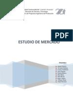 ESTUDIO DE MERCADO FORMULACIÓN DE PROYECTO