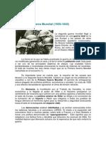 2º Guerra Mundial actividad