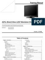 Sony Chassis Az1-l Training Manual