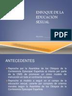 ENFOQUE DE LA EDUCACIÓN SEXUAL
