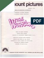 Warriors (1979) Handbook