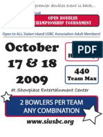 2009 SIUSBC Open Doubles Championships Application