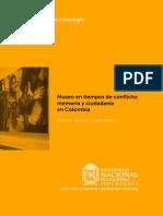 Museo en Tiempos de Conflicto Memoria y Ciudadan a en Colombia LQ-1