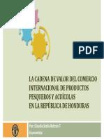 Cadena de valor Honduras - Claudia Beltrán, Consultora FAO-NORAD