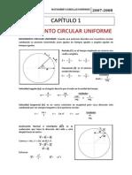 1. Movimiento Circular Uniforme