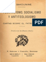 Bakounine federalismo
