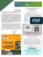 YA Newsletter Sept 28