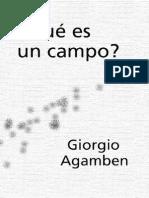 Agamben Giorgio - Que Es Un Campo