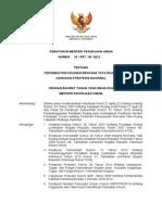 PermenPU Nomor 15 Tahun 2012 Ttg Pedoman RTR KSN
