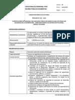 F01 (PR-RRHH-JNE-07) CPM 016 2013 Técnico en Seguridad de la Información DCGI