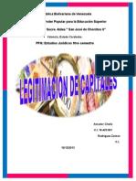 Legitimacion de Capital Informe