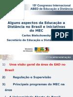 Carlos Eduardo Bielschowsky - SEED/MEC - Brasil