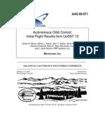 Sat-Orbitcontrol-Paper-2000 05 Autonomous_Orbit_Control Initial Flight Results Fron UoSAT-12