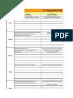 Plan de Trabajo en Medicina Preventiva 2010