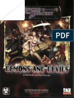 d20 - Sword & Sorcery - Demons and Devils