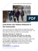 Local Action Gun Event 02-08-14 Invitation