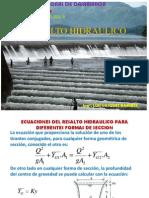 Resalto Hidraulico Formulas