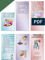 Leaflet Persalinan Di Tolong Oleh Tenaga Kesehatan