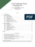 Lead Compensator Design Paper