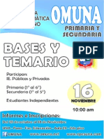 Bases Omuna 2013