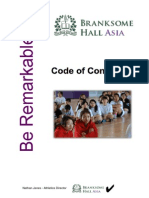 branksome hall asia  code of conduct