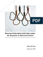 Russian LGBT Law White Paper