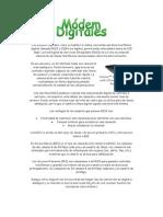 Los módems digitales