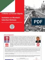 Sanitation on Mumbai's Suburban Railways