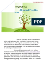 Biomass Briquettes- Chemical Free Bio Fuel